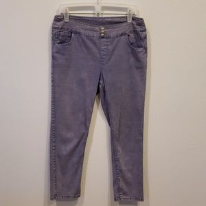 Soft surroundings lilac pull on Jean's size S